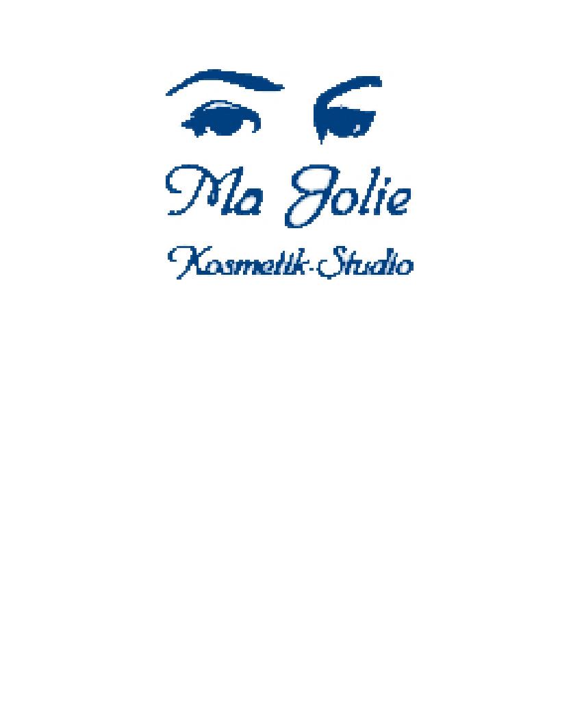 Ma Jolie Logo